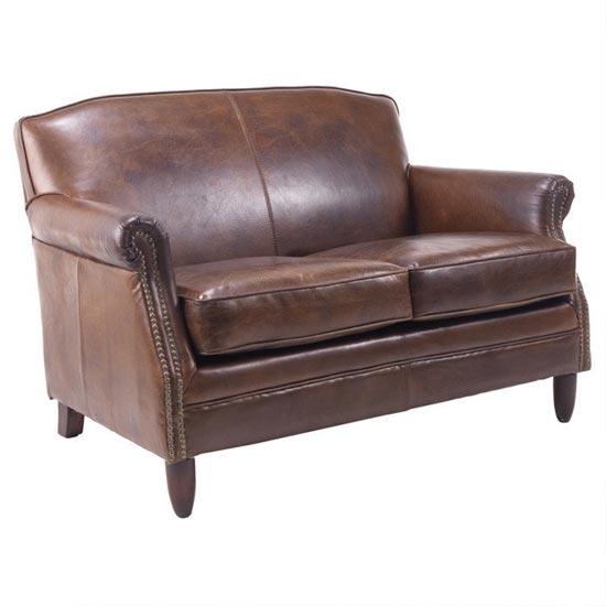Adlington Leather 2 Seater Sofa