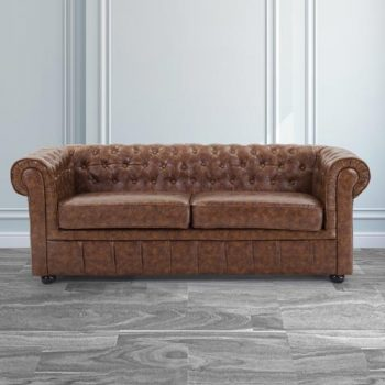 Clackline Leather 2 Seater Sofa
