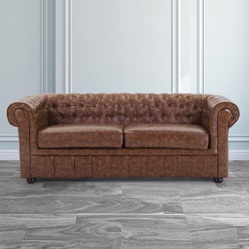 Clackline-Leather-2-Seater-Sofa