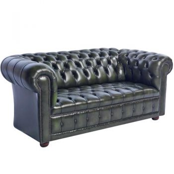 Gateway Genuine Leather Chesterfield