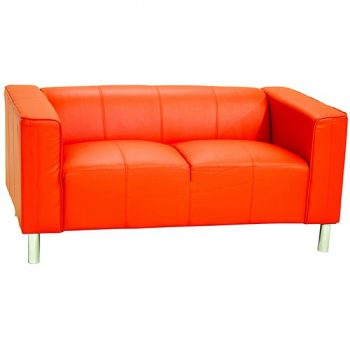 Heartlands Red Sofa